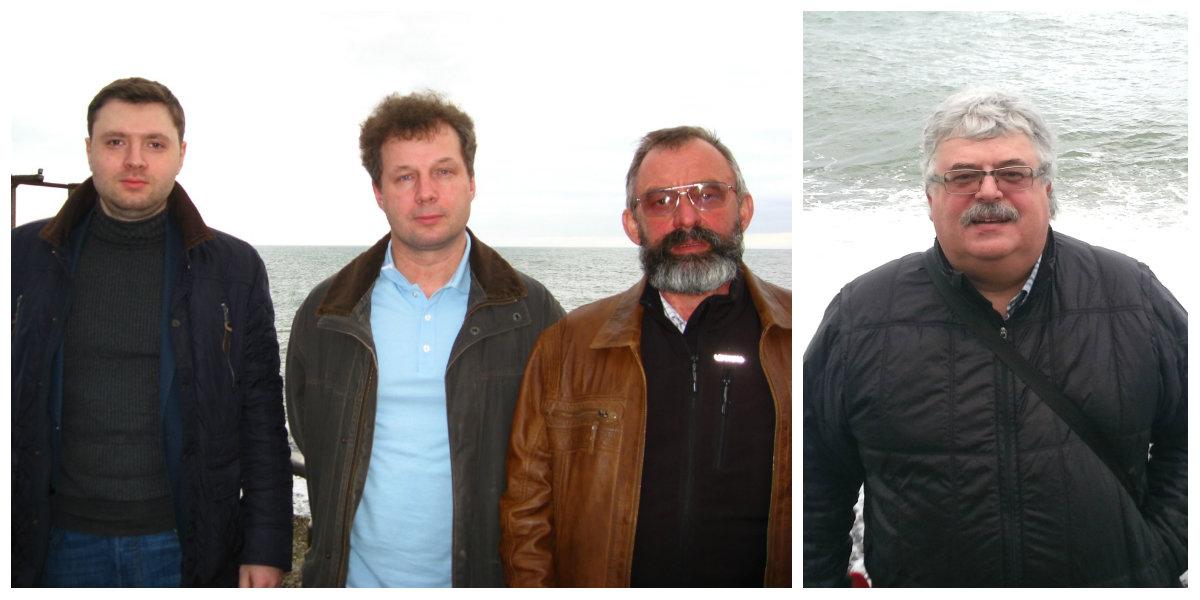 Представители Бюро ESG (слева направо: Дмитрий Иванов, Дмитрий Долгалев, Александр Тучков и Игорь Фертман) на Международной Пользовательской Конференции Intergraph PP&M Россия и СНГ 2015