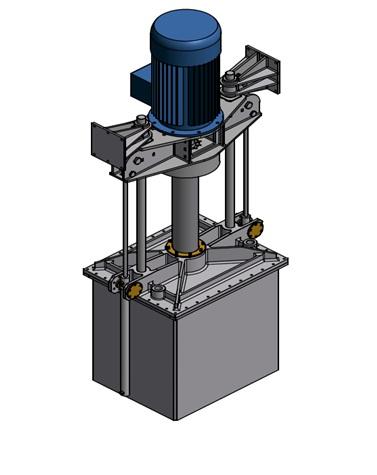 Модель подруливающего устройства