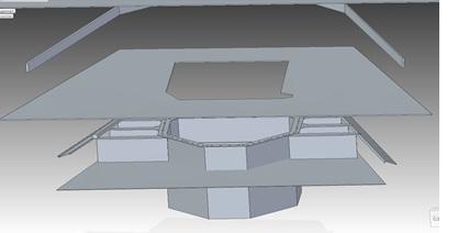 CAD-модель, построенная на основании данных 3D-сканирования