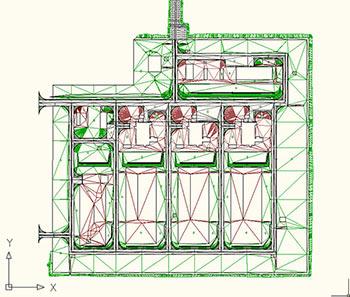 Пример 3D-модели организации рельефа